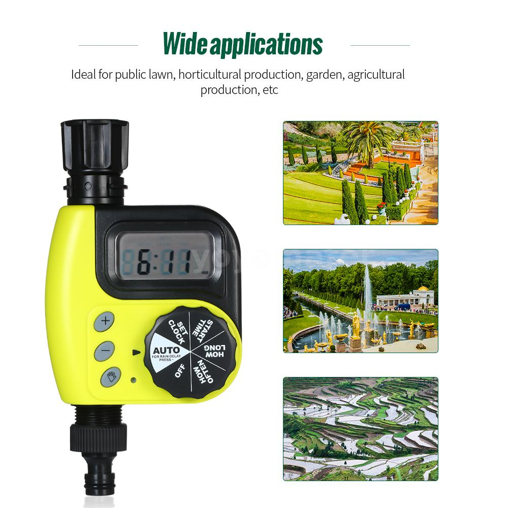 C1X2 Automatic Water Timer Outdoor Garden Irrigation Controller 1