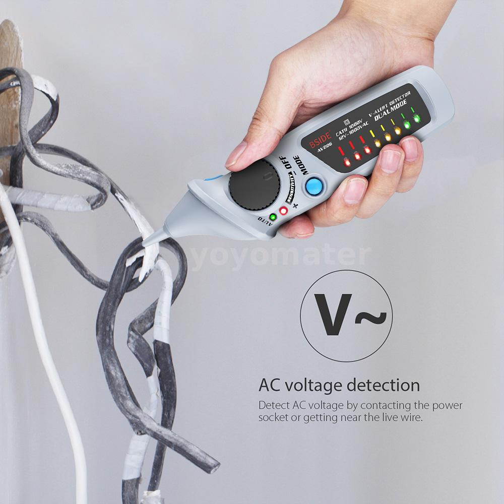 Other Test Meters & Detectors BSIDE AVD06 Non-contact AC Voltage ...