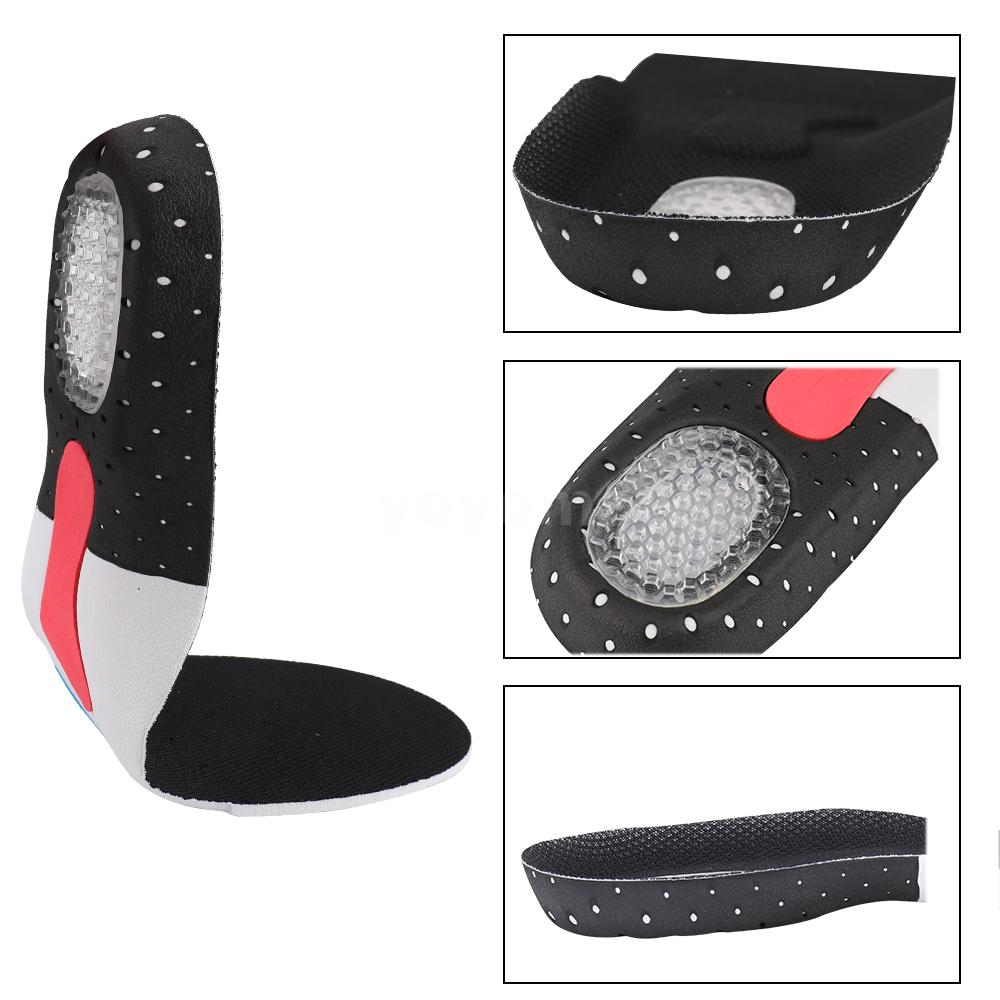 Orthopedic Foot Arch Support Sport Shoe Pad Running Gel Insoles Insert H9Q1